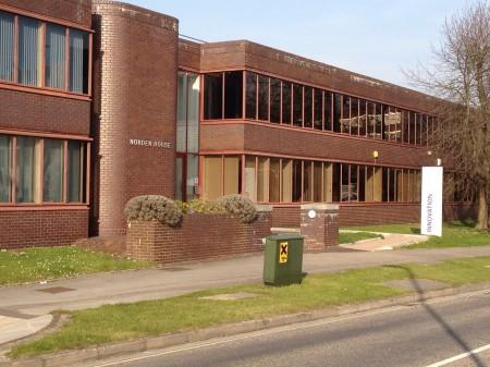 Norden House home of Paul Allen Media in Basingstoke